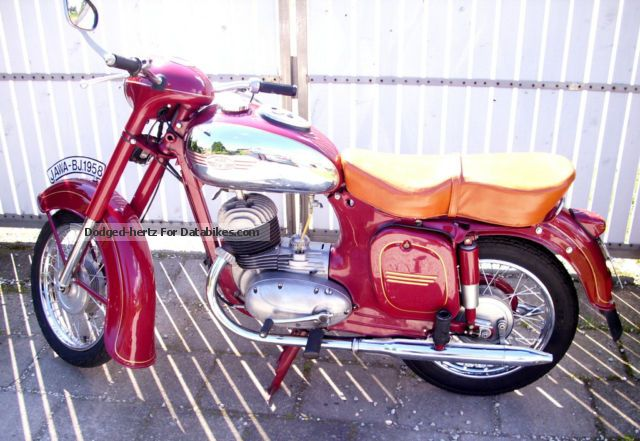 Jawa  355 / 125cc 1958 Vintage, Classic and Old Bikes photo