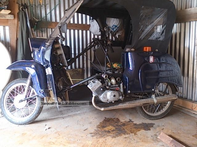 1985 Simson  duo Motorcycle Motor-assisted Bicycle/Small Moped photo