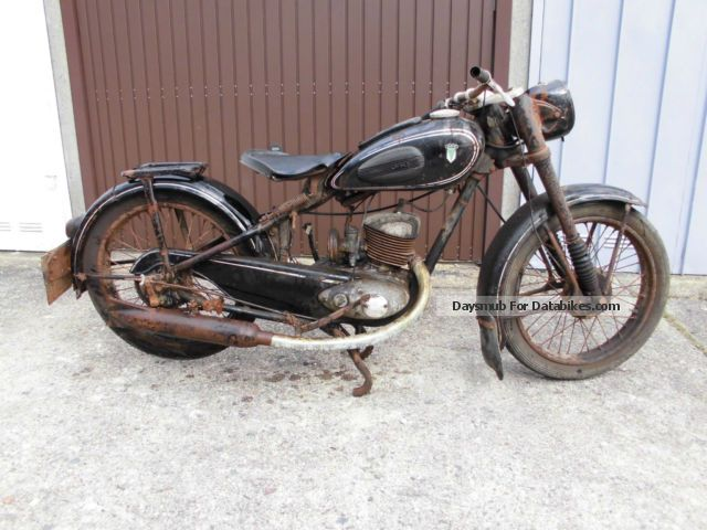 DKW  RT 200 1952 Vintage, Classic and Old Bikes photo