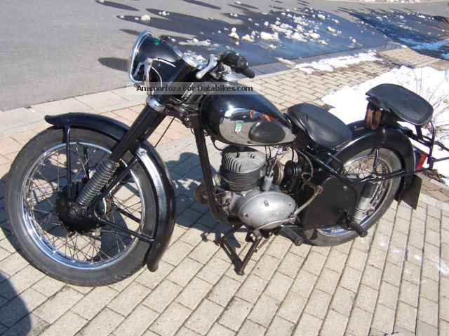 DKW  RT 250 1953 Vintage, Classic and Old Bikes photo