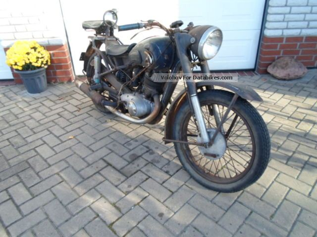 DKW  isch 1949 Vintage, Classic and Old Bikes photo