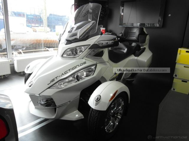 2012 BRP  Can-Am Spyder RT Limited LTD SE5 Motorcycle Motorcycle photo