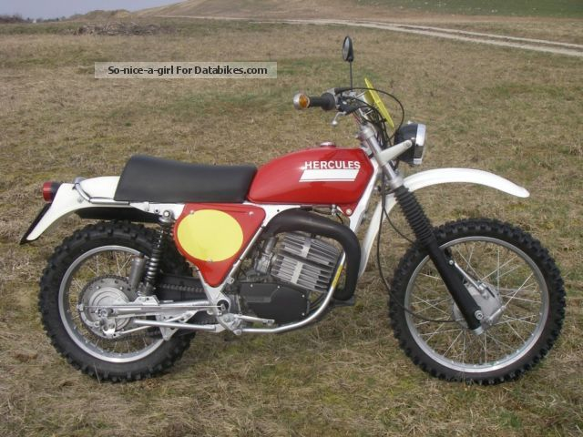 Herkules  GS 250, classic, dirt bike 1977 Vintage, Classic and Old Bikes photo