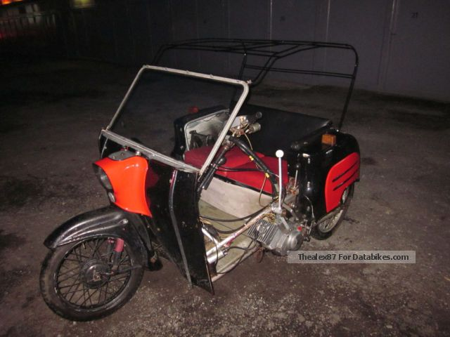 1967 Simson  Duo 4/1 Motorcycle Motor-assisted Bicycle/Small Moped photo