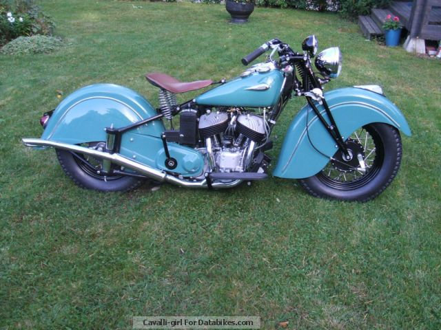Indian  Sports Scout 1941 Vintage, Classic and Old Bikes photo