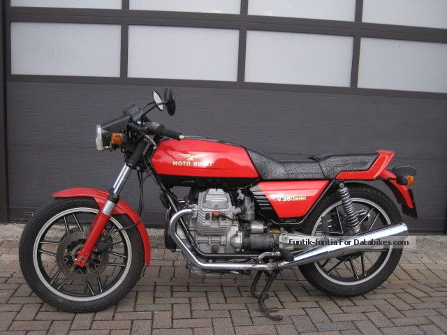 1981 Moto Guzzi  V35 Imola maintained original condition! Motorcycle Sports/Super Sports Bike photo