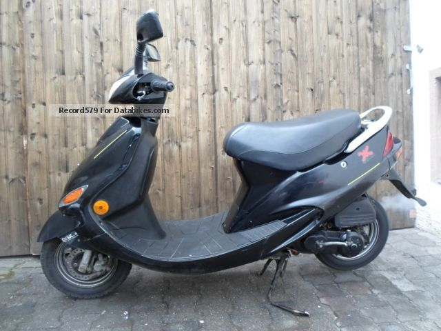 1997 kymco fever zx 50 scooter moped 25er kca. Black Bedroom Furniture Sets. Home Design Ideas