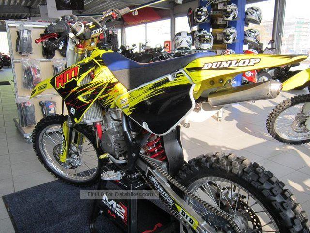 2009 Suzuki RM-85L, BUD Racing