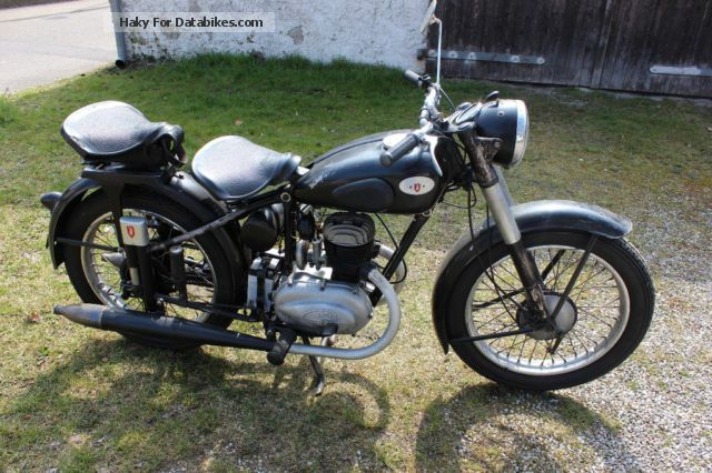 Zundapp  Zündapp Comfort 1953 Vintage, Classic and Old Bikes photo