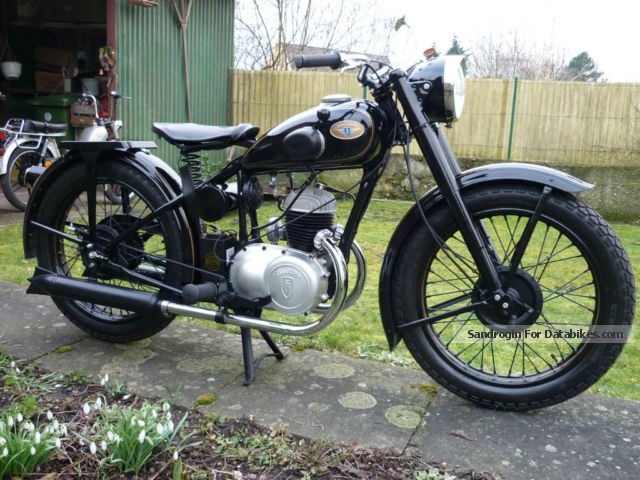 Zundapp  Zündapp DB 201 1950 Motorcycle photo