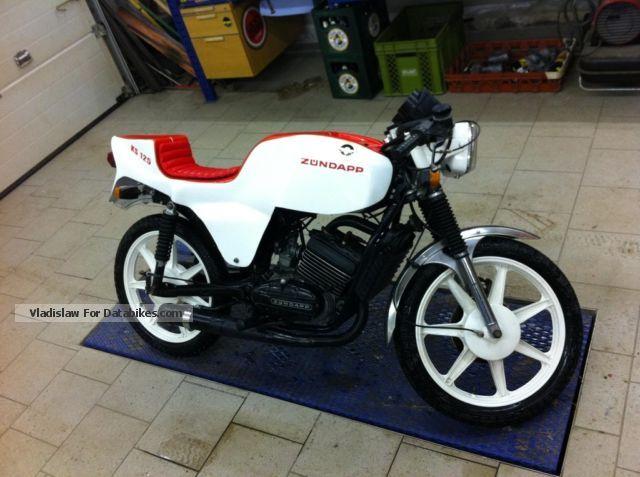 1981 Zundapp  Zündapp KS 125 Motorcycle Lightweight Motorcycle/Motorbike photo