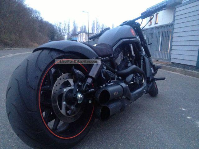 2012 Harley Davidson  Harley-Davidson Night Rod Special Black / Matt conversion Motorcycle Chopper/Cruiser photo