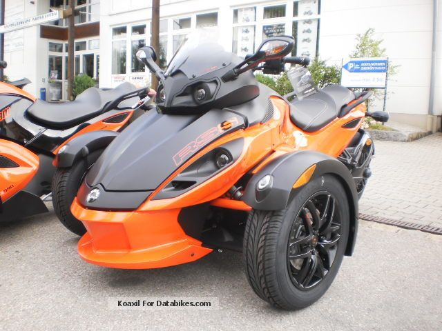 2013 Can Am  Spyder RSS Red Dragon Motorcycle Trike photo