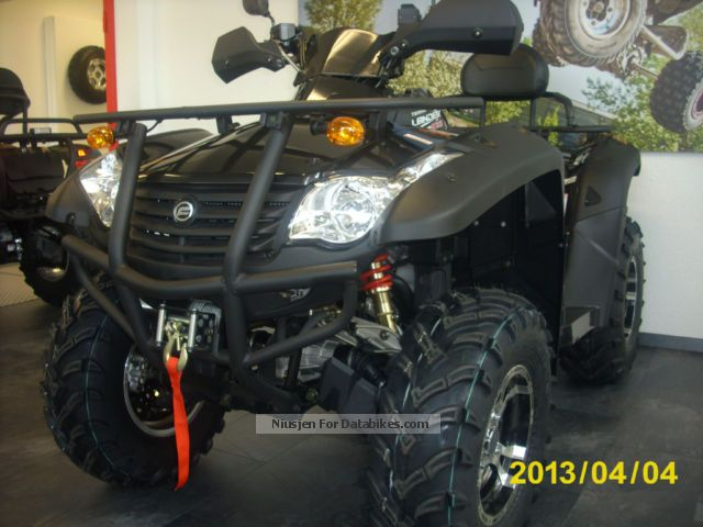 2012 CFMOTO  Terra Lander 625 EFI 4x4 LOF 24 months warranty Motorcycle Quad photo