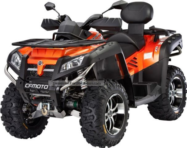 2013 CFMOTO  Terra Lander 800 EFI 4x4 LoF Motorcycle Quad photo