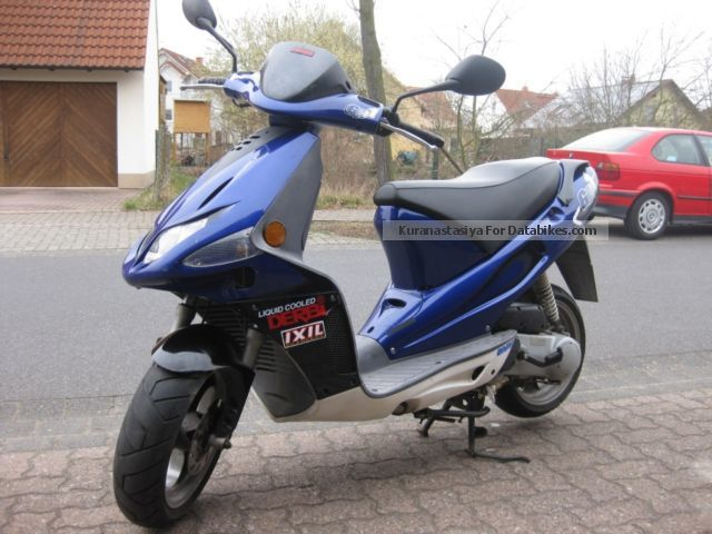 2002 Derbi  GP 50 Motorcycle Scooter photo