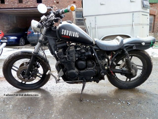 Yamaha  XJ 650 T, Type 11T TURBO 1985 Chopper/Cruiser photo