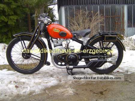 DKW  Luxury 300 1929 Vintage, Classic and Old Bikes photo