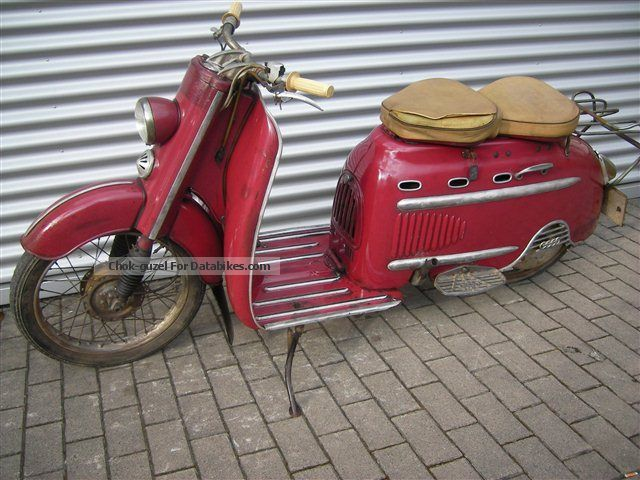 DKW  Hobby Lux 1956 Vintage, Classic and Old Bikes photo