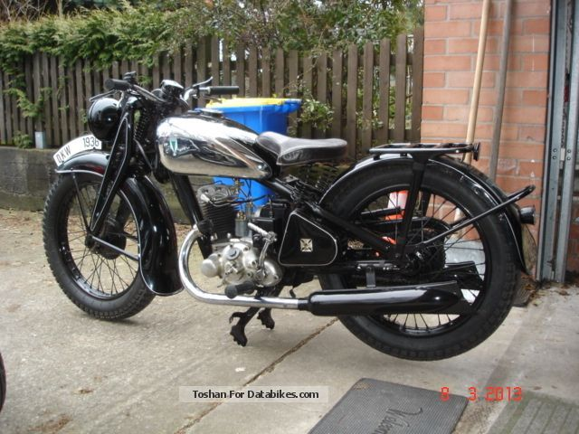 DKW  Auto Union SP 200 1936 Vintage, Classic and Old Bikes photo