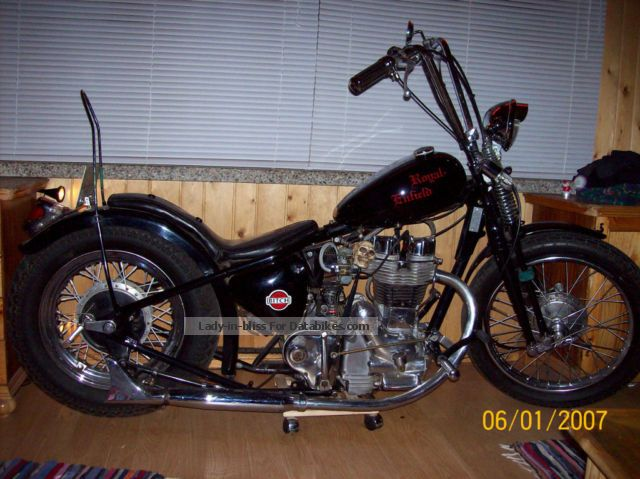 Royal Enfield  350cc chopper 1935 Vintage, Classic and Old Bikes photo
