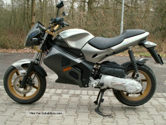 2006 Gilera  DNA 25km/h-Zulassung Motorcycle Scooter photo