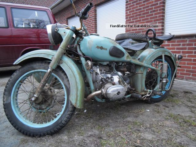 Ural  m-62 1962 Vintage, Classic and Old Bikes photo