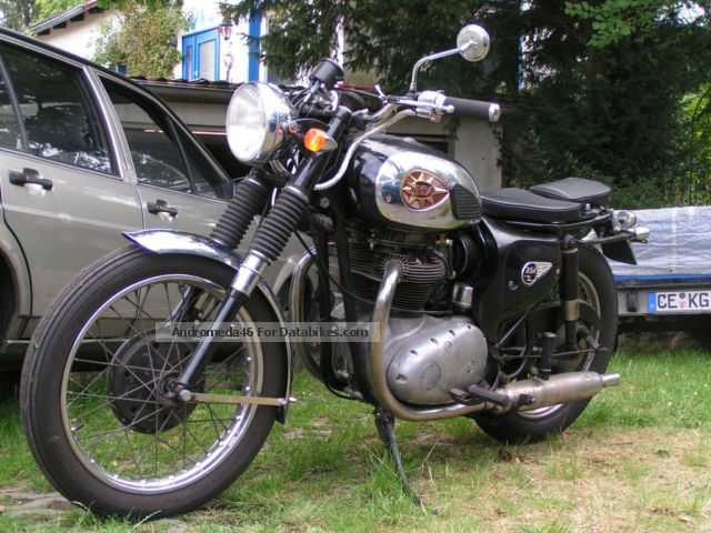 BSA  A 65 T 1968 Vintage, Classic and Old Bikes photo