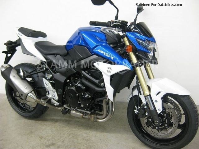 2013 Suzuki  GSR750A L3 ABS Mod.2013 incl.600, - € VOUCHER Motorcycle Naked Bike photo