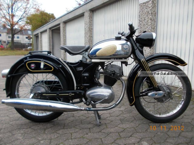 NSU  Super Fox 1953 Vintage, Classic and Old Bikes photo