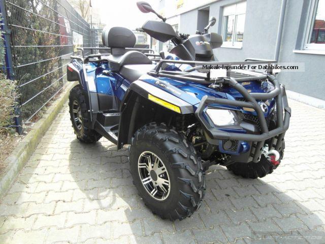 2011 BRP  Can-Am Outlander MAX 800 LTD - Sales order Motorcycle Quad photo