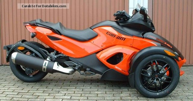 2012 BRP  Spyder RS-S SM5 Motorcycle Trike photo