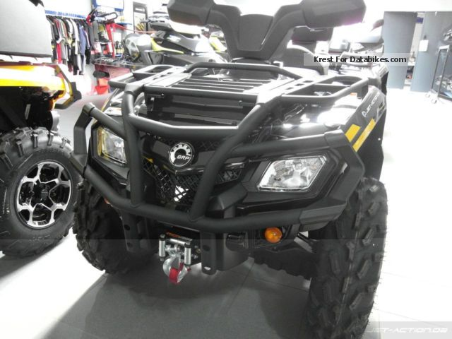 2012 BRP  Can-Am Outlander MAX 400 XT EC / LOF also Motorcycle Quad photo