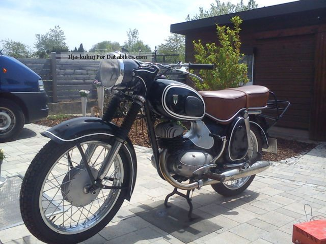 1956 DKW  175 S Motorcycle Lightweight Motorcycle/Motorbike photo