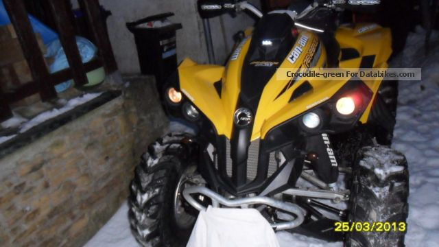2008 BRP  Can Am Renegade Motorcycle Quad photo