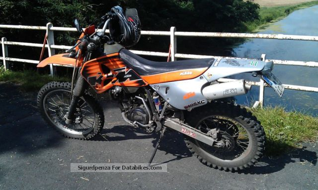 1998 KTM  540 SXC Motorcycle Enduro/Touring Enduro photo