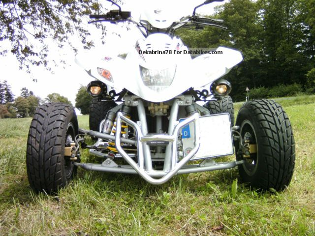 2008 Dinli  Demon460 LOF, tractor, about 54 hp! VHB! Motorcycle Quad photo
