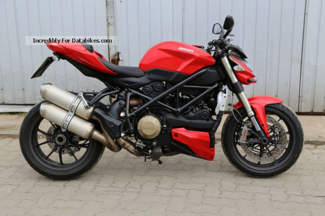2010 Ducati  Streetfigher 1098 TOP maintained Motorcycle Sports/Super Sports Bike photo