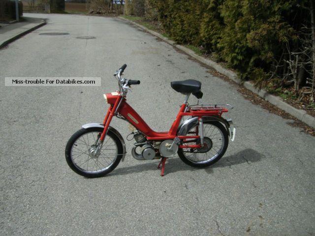 MBK  Yamaha Mini Motobecane Moby 1972 Vintage, Classic and Old Bikes photo