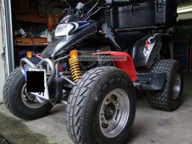 2006 Explorer  Stinger Motorcycle Quad photo