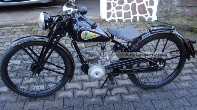 1938 DKW  RT 100 Motorcycle Motorcycle photo