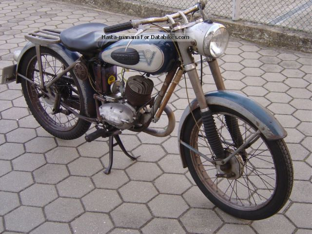 DKW  Victoria KR 125 BI-FIX 1951 Vintage, Classic and Old Bikes photo