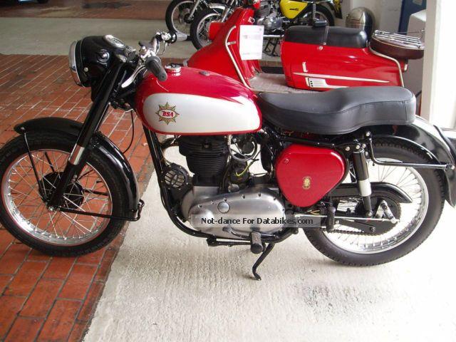 1953 BSA  B 31 Toprestaurierung Motorcycle Motorcycle photo