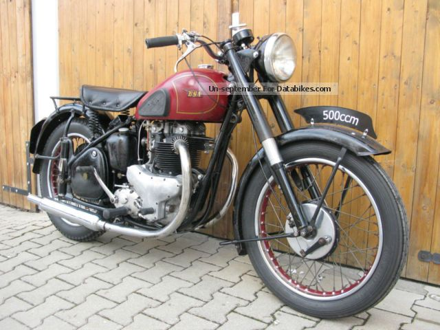 BSA  A7 1952 Vintage, Classic and Old Bikes photo