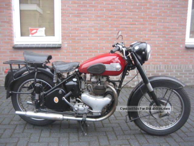 BSA  A7 TWIN, IR: 1953 PRICE 3699 EURO 1953 Vintage, Classic and Old Bikes photo