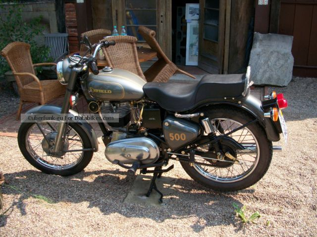 2002 Royal Enfield  Bullet 500 NEW from collection Motorcycle Motorcycle photo