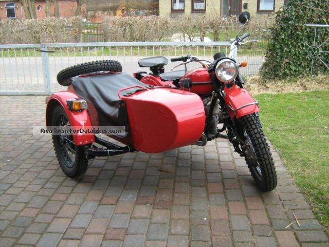 1991 Ural  8103-10 650cc sidecar Motorcycle Combination/Sidecar photo