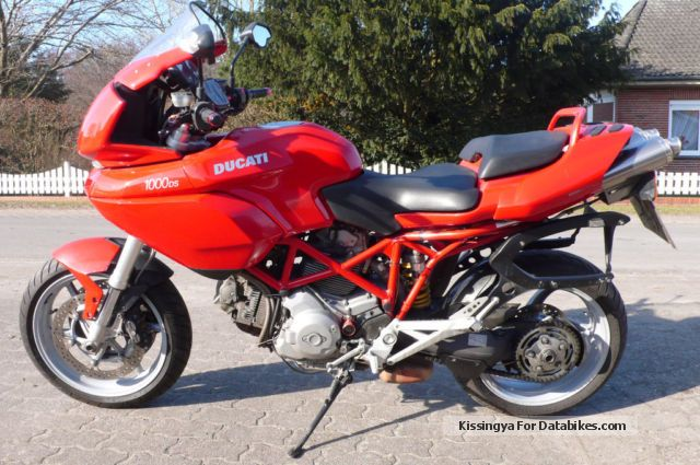 2012 Ducati  Multistrada 1000 DS with saddlebags Motorcycle Sport Touring Motorcycles photo