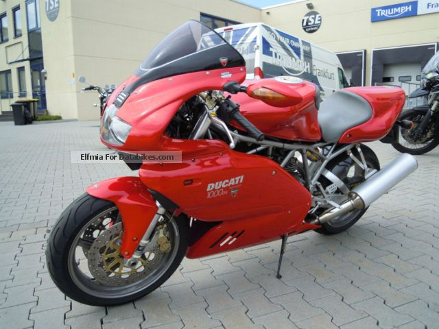 2005 Ducati  1000SS Motorcycle Sports/Super Sports Bike photo