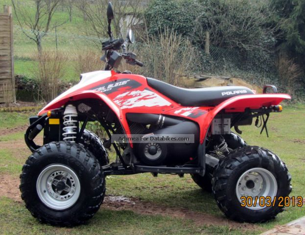 Polaris  Trail Blazers 330 1terHand TÜV NEW 2011 Quad photo